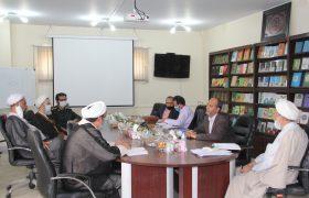 جلسه تعامل و هماندیشی پژوهشگاه با معاون تربیت و آموزشی عقیدتی – سیاسی ارتش